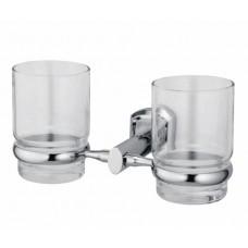Подстаканник WasserKRAFT K-3028D, двойной стеклянный