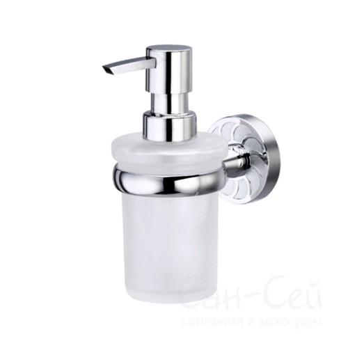 Дозатор для жидкого мыла WasserKRAFT К-4099, стеклянный