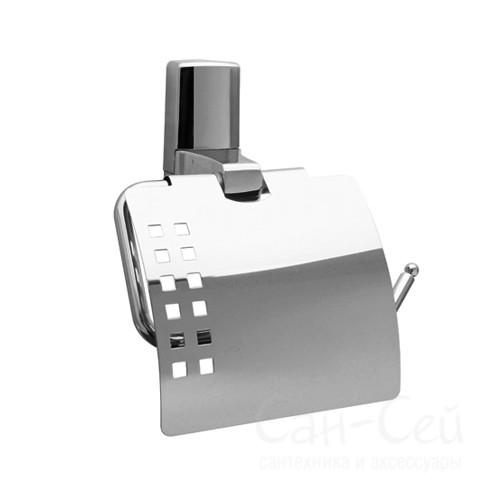 Держатель туалетной бумаги WasserKRAFT К-5025, с крышкой