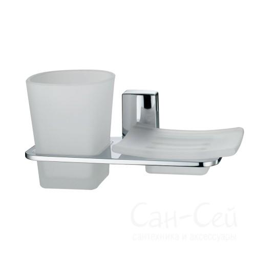 Держатель стакана и мыльницы WasserKRAFT К-5026