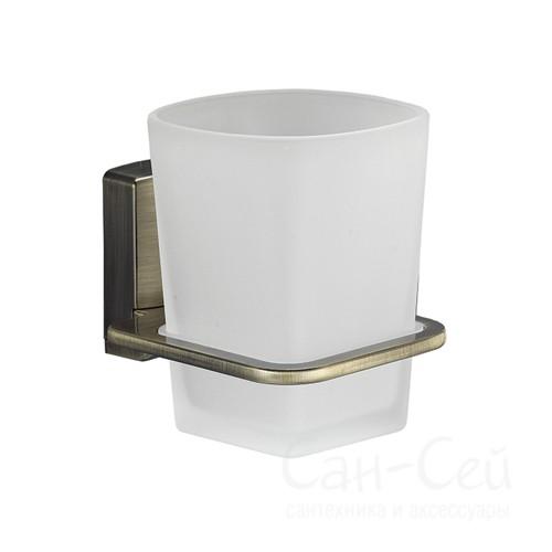 Стакан для зубных щеток WasserKRAFT К-5228, стеклянный