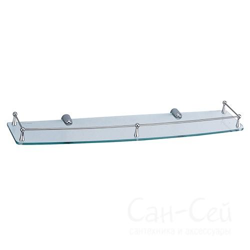 Полка WasserKRAFT K-555, стеклянная