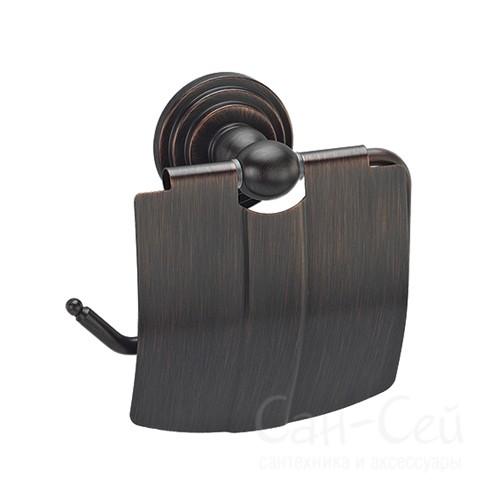Держатель туалетной бумаги WasserKRAFT К-7325, с крышкой