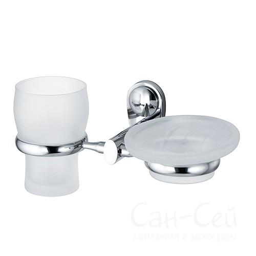 Держатель стакана и мыльницы WasserKRAFT K-9226