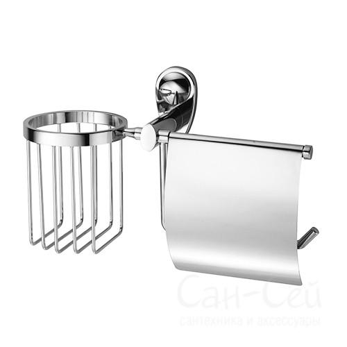 Держатель туалетной бумаги и освежителя WasserKRAFT K-9259