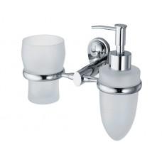 Держатель стакана и дозатора WasserKRAFT K-9289