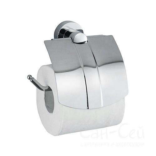 Держатель туалетной бумаги WasserKRAFT K-9425, с крышкой