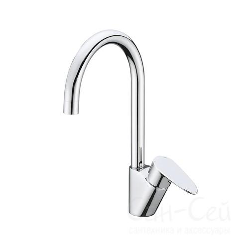 Смеситель для кухни WasserKRAFT Leine 3507,с поворотным изливом