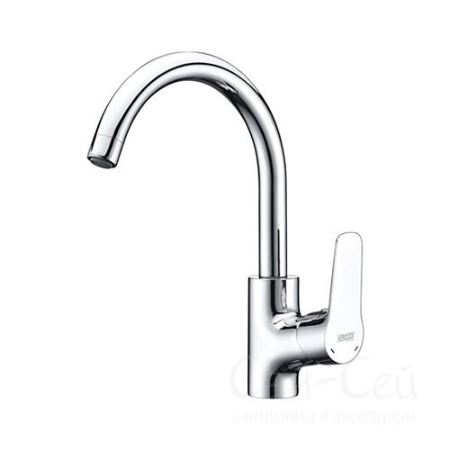 Смеситель для кухни  WasserKRAFT Lippe 4507, с поворотным изливом
