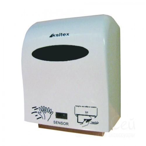 Диспенсер рулонных полотенец Ksitex A1-15A, белый