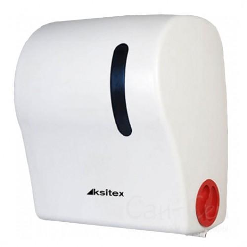 Диспенсер рулонных полотенец Ksitex AC1-18, с автоматическим обрезанием бумаги