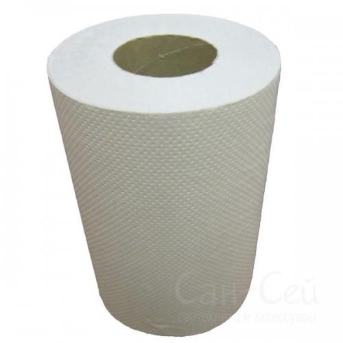 Бумажные полотенца Ksitex в рулонах однослойные