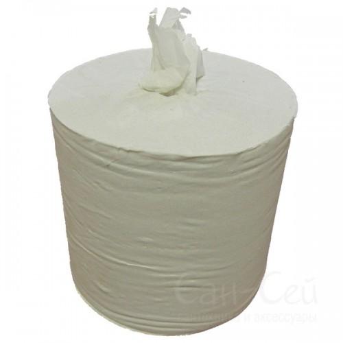 Бумажные полотенца Ksitex в рулонах однослойные, с центральной вытяжкой
