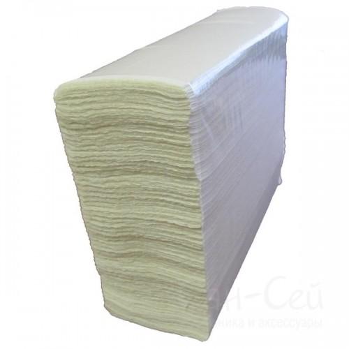 Листовые бумажные полотенца Ksitex двухслойные, Z-сложения