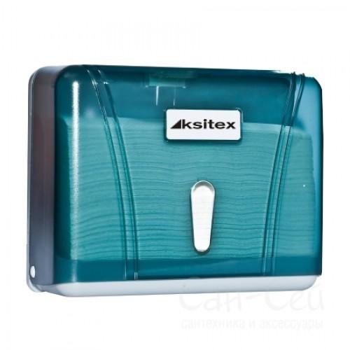 Диспенсер листовых полотенец Ksitex TH-404G, V-сложения