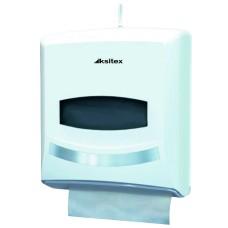 Диспенсер листовых полотенец Ksitex TH-8238A, V-сложения, белый