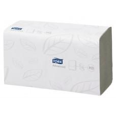Бумажные полотенца Tork Singlefold 290163 H3 (упаковка 15 пачек по 250 листов)