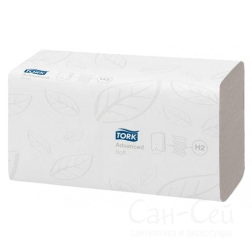 Бумажные полотенца Tork Xpress 120288 H2 мягкие (Блок: 21 уп. по 136 шт.)