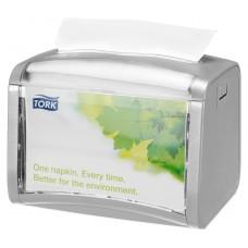 Диспенсер для салфеток Tork Signature Xpressnap 272613 N4 серый