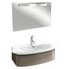 Мебель для ванной Jacob Delafon Presquile 100 серый титан