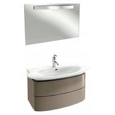 Мебель для ванной Jacob Delafon Presquile 100 серый титан, 2 ящика