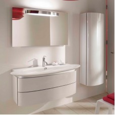 Мебель для ванной Jacob Delafon Presquile 130 белый, 2 ящика