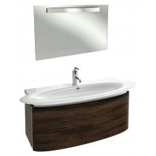 Мебель для ванной Jacob Delafon Presquile 130 палисандр, 2 ящика