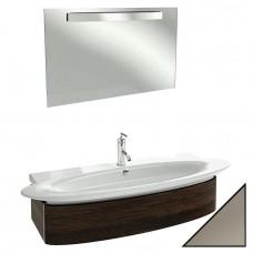Мебель для ванной Jacob Delafon Presquile 130 серый титан