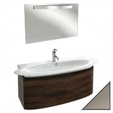 Мебель для ванной Jacob Delafon Presquile 130 серый титан, 2 ящика
