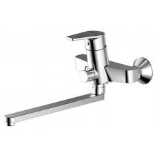 Смеситель для ванны c длинным изливом Bravat Line F65299C-1L