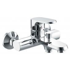 Смеситель для ванны c коротким изливом Bravat Pure F6105161C-01