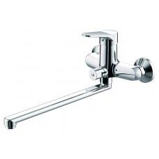 Смеситель для ванны c длинным изливом Bravat Pure F6105161C-01A