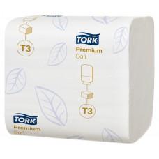 Туалетная бумага Tork Premium 114276 T3 (Блок: 30 уп. по 252 шт)
