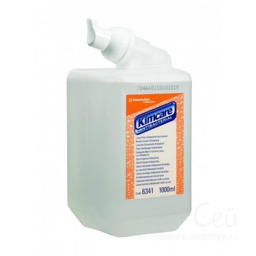Жидкое пенное мыло  Kimberly-Clark Kimcare антибактериальное  1л 6341
