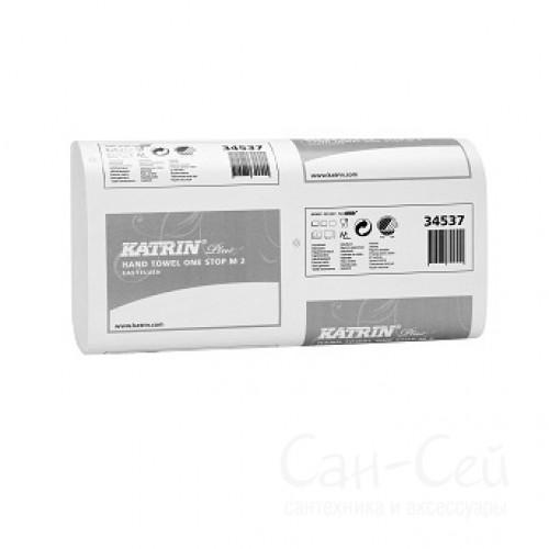 Быстрорастворимые бумажные полотенца Katrin Plus One Stop M2 EasyFlush 345379
