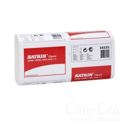 Бумажные полотенца Katrin Classic One Stop L2 345355