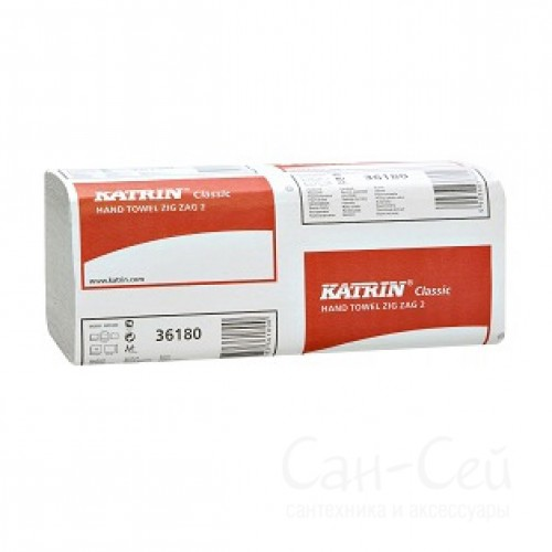 Бумажные полотенца Katrin Classic Zig Zag 2 36180