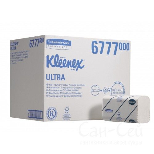 Бумажные полотенца Kimberly-Clark KLEENEX Ultra 6777