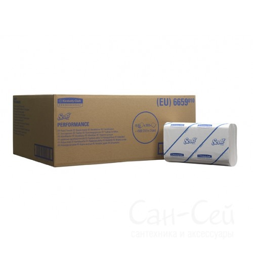 Бумажные полотенца Kimberly-Clark SCOTT Perfomance 6659