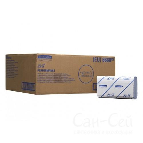 Бумажные полотенца в пачках SCOTT Perfomance 6660