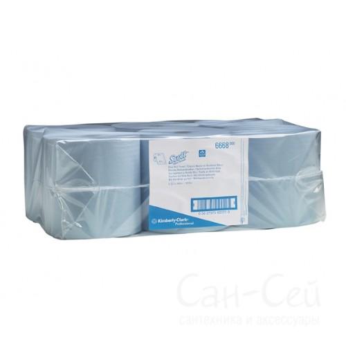 Бумажные полотенца Kimberly-Clark SCOTT 6668 в рулонах