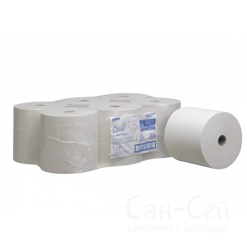 Бумажные полотенца Kimberly-Clark SCOTT XL 6687 в рулонах