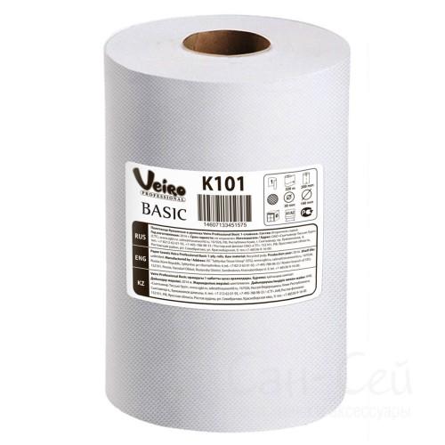 Бумажные полотенца в рулоне Veiro Professional Basic K101
