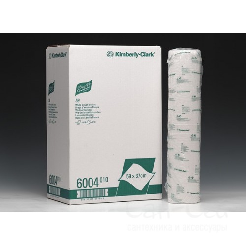 Бумажные простыни SCOTT 6х50м 6004