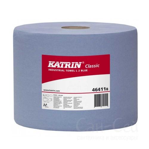 Бумажный протирочный материал Katrin Classic L2 Blue 464118