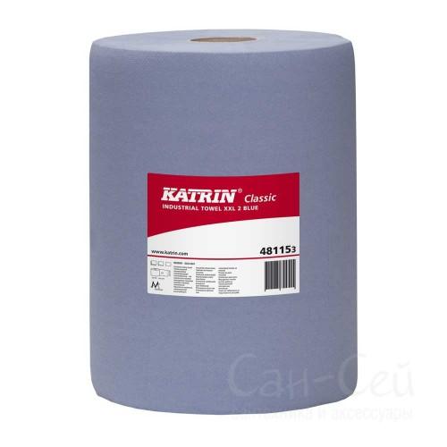 Бумажный протирочный материал Katrin Classic XXL2 Blue Glued (laminated) 481153