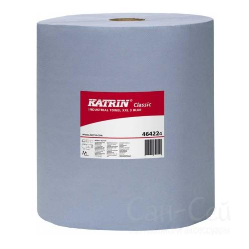 Бумажный протирочный материал Katrin Classic XXL 3 Blue 464224