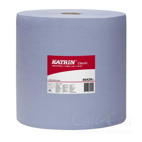 Бумажный протирочный материал Katrin Classic XXL 3 Blue 464262