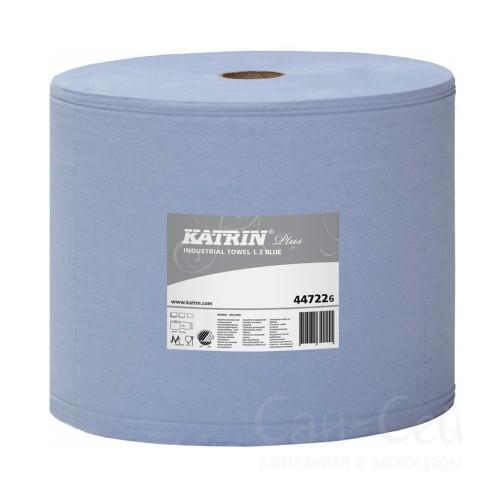 Бумажный протирочный материал Katrin Plus L 2 Blue 447226