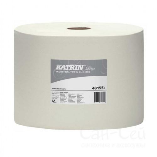 Бумажный протирочный материал Katrin Plus XL 2 1500 481559